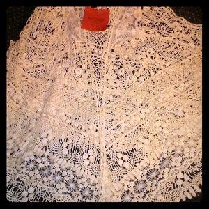 Mossimo Supply Crochet Vest